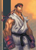Ryu by SephirothArt