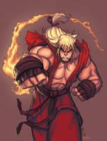 Ken Masters by SephirothArt