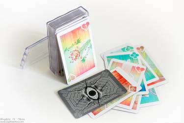 Anthrocemorphia Card Deck by sophiaazhou
