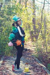 Taneko! Trainer Cosplay - 5 by sophiaazhou