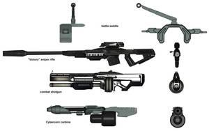 Gun Reference by otherunicorn