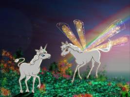 The Lost Unicorn's  friend by otherunicorn