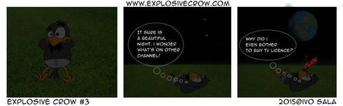 Explosive Crow #3 by explosivecrow