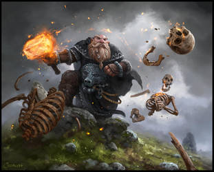 Master Dwarf by AlexanderExorcist
