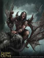 Gargoyle by AlexanderExorcist