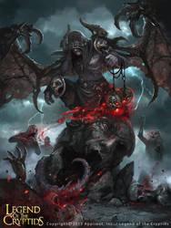 Gargoyle (advanced) by AlexanderExorcist