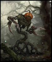 Pumpkin Warrior (Cutter) by AlexanderExorcist