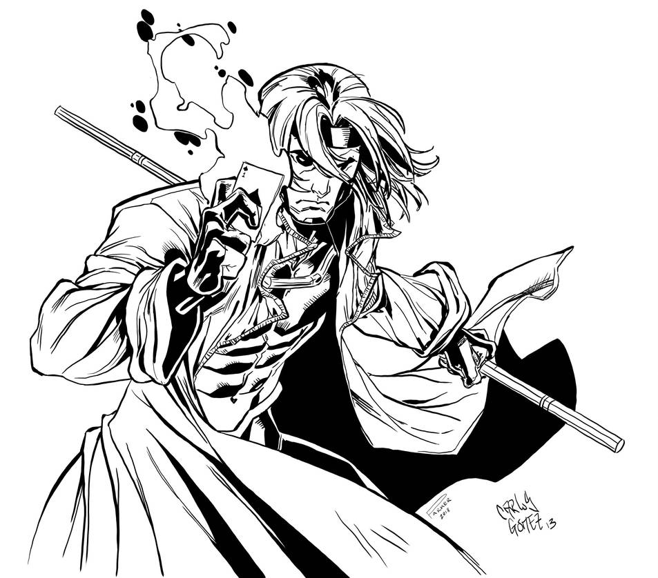 Inked Gambit Sketch by TimJParker