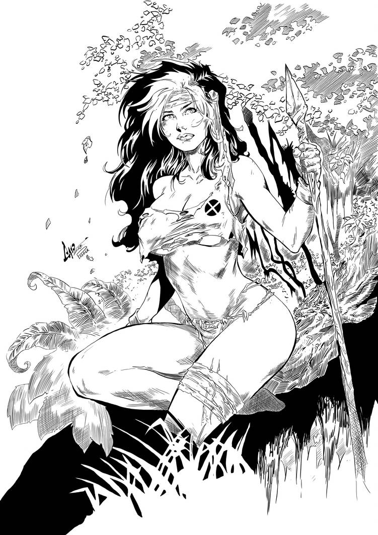 Inked Savage Rogue by TimJParker