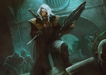 Mutant Chronicles by BorjaPindado
