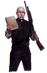 The Preacher by BorjaPindado