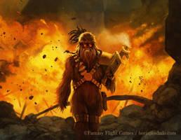 Explosive Rage - STAR WARS: Imperial Assault by BorjaPindado
