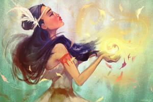 Pocahontas by faedri