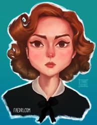 Portrait by faedri