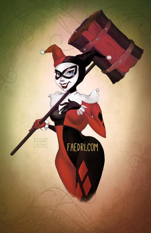 Harley Quinn by faedri