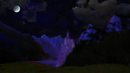 A Shuttle Launch by Fixer48202