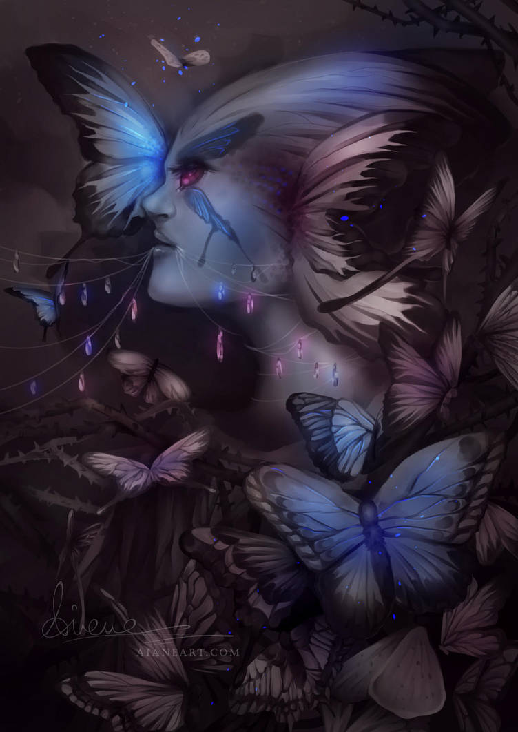 Butterflies by aianeart
