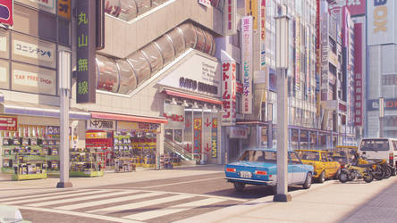 Akihabara South Exit by iCephei