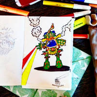 Morning doodle - 27. XII '15. - Mech Warrior Prime by zlajonja