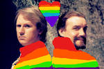 fifth doctor/master pride month by doctorwhogirl912
