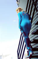 Metroid: Zero Suit Samus 3 by HayleyElise