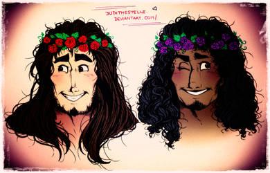 Flower crowns by JudithEstelle