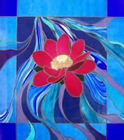 Flowing Lotus by Figureheadglass