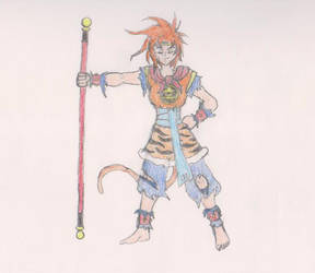 Hero: Sun wukong color By Xeranad by AAGGRESSS
