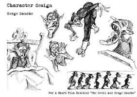 Character Design 1 by JohnDChadwick
