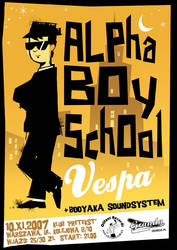 Alpha Boy School poster by skinhead69