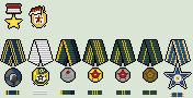 Socialist Indonesia Republic Medals by Luke27262