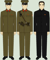 Selection of North Korean Uniforms by Luke27262