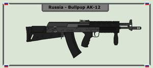 Russia - Bullpup AK-12 by Luke27262