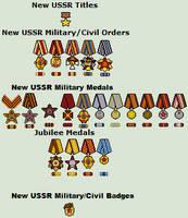 Redrich1917 - New USSR Medals by Luke27262