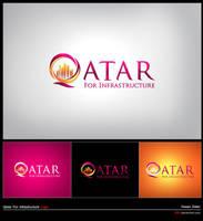 LOGO Qatar Infrastructur by i88z