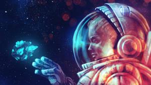 space girl by AnekaShu