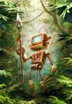 wild robot by AnekaShu