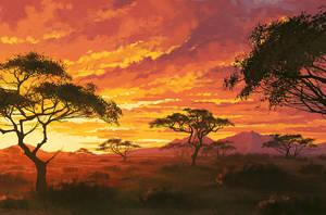 savanna by AnekaShu