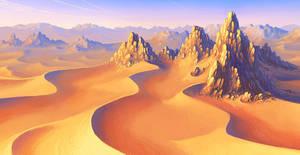 desert by AnekaShu