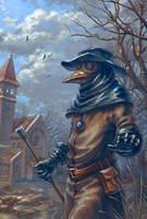 plague doctor by AnekaShu