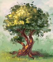tree by AnekaShu