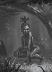 wild girl by AnekaShu