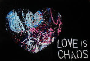 love is chaos by heartinacan