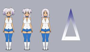 Azure Industries Drone'd: Dizzy, Ruby, and Anzu by SilverKazeNinja