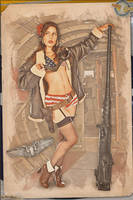 Pinups - The Waist-Gunners of WW2 by warbirdphotographer