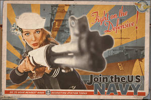Propaganda Pinups - Fight on the Defensive! by warbirdphotographer