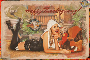 Pinups - HAPPY THANKSGIVING! by warbirdphotographer