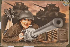 Pinups - Battlefield Beth! by warbirdphotographer