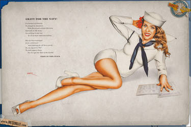 Pinups - Gravy for the Navy (Varga Tribute) by warbirdphotographer