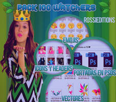 PACK 1OO WATCHERS BY ROSSI EDITIONS by RossiEditions10